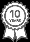 10-year quarantee